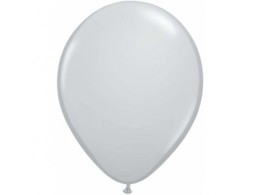 Grey Latex Balloons (5pcs)