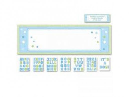 Personalize it! Blue banner kit