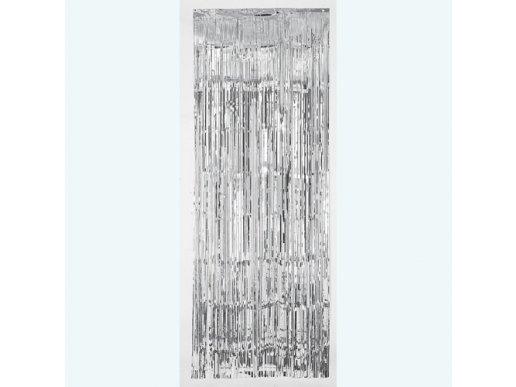 Κουρτίνα Ασημί Foil