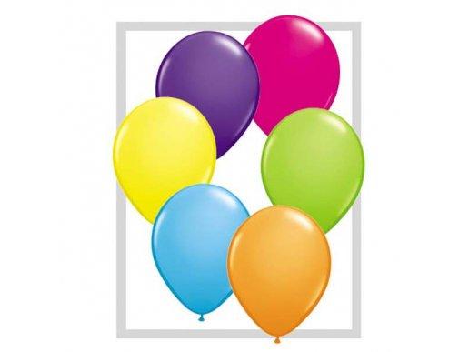 Tropical Assortment Latex Balloons (12pcs)