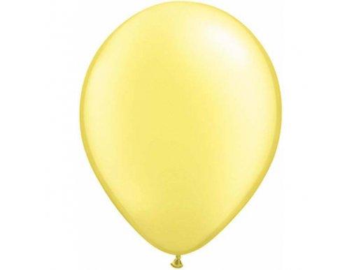 Κίτρινα Μπανανί Περλέ Λάτεξ Μπαλόνια (5τμχ)