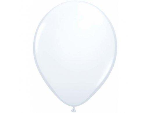 White Latex Balloons (5pcs)