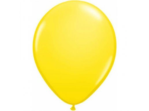 Yellow Latex Balloons (5pcs)