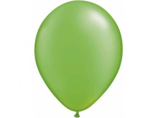 Lime Green Pearl Latex Balloons (5pcs)