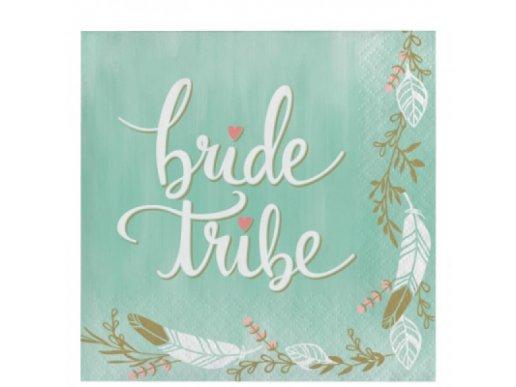 Χαρτοπετσέτες Bride Tribe 16/Τμχ