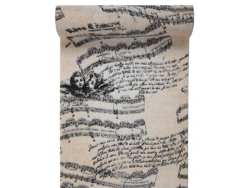 Angel Musical Notes Table Runner (28cm x 3m)