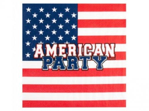 American Party Χαρτοπετσέτες (12τμχ)