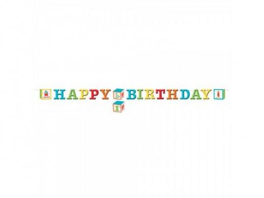 ABC Party Γιρλαντα για Γενεθλια