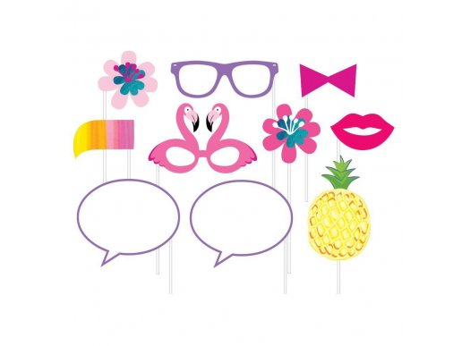 Pineapple & Friends Photobooth Props 10/pcs