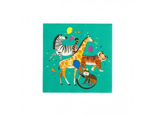 Party Animals Χαρτοπετσέτες (20τμχ)