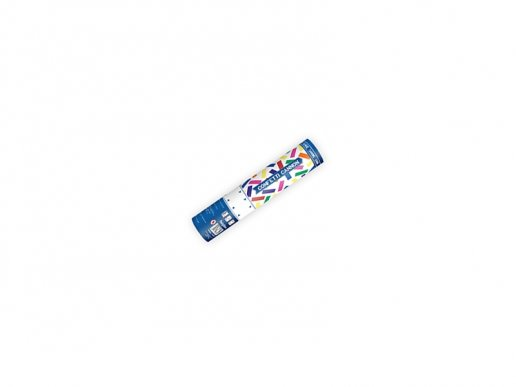 Individual Party Cannon with Multicolor Confetti