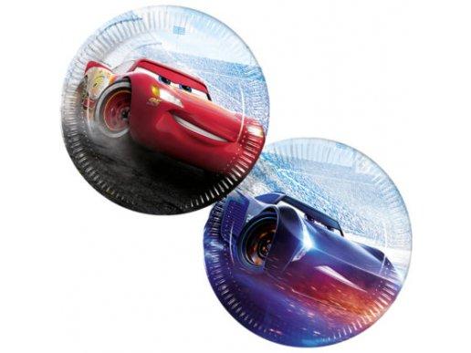 Cars Large Paper Plates 8/pcs