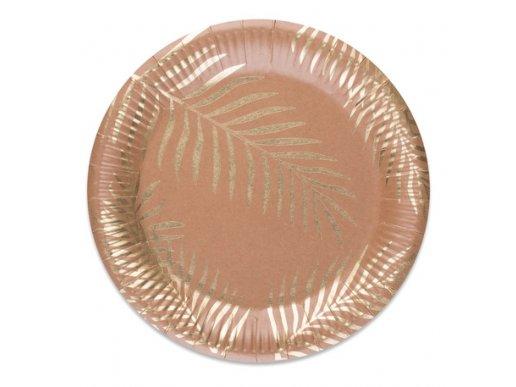Tropical Chic Large Paper Plates 8/pcs