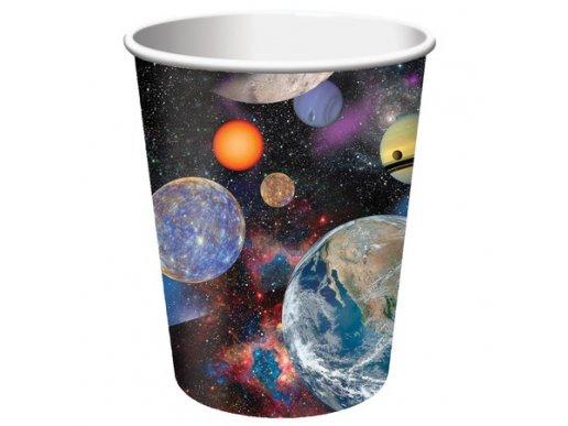 Space Blust paper cups 8/pcs