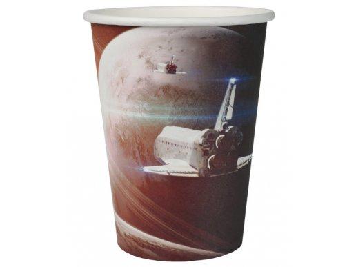 Space Paper Cups 10/pcs