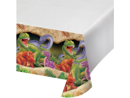 Dinosaures plastic tablecover