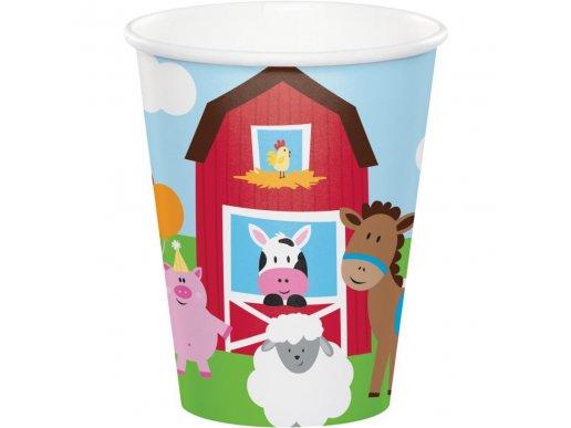 Farmhouse Paper Cups (8pcs)