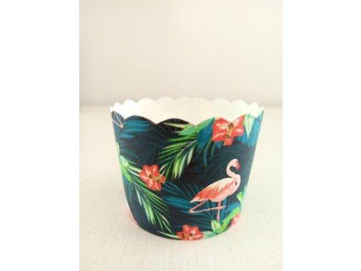 Flamingo Chic Cake Cups 25/pcs