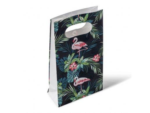 Flamingo Chic Paper Bags (6pcs)