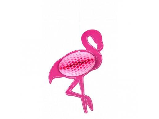 Flamingo Honeycomb Decoration