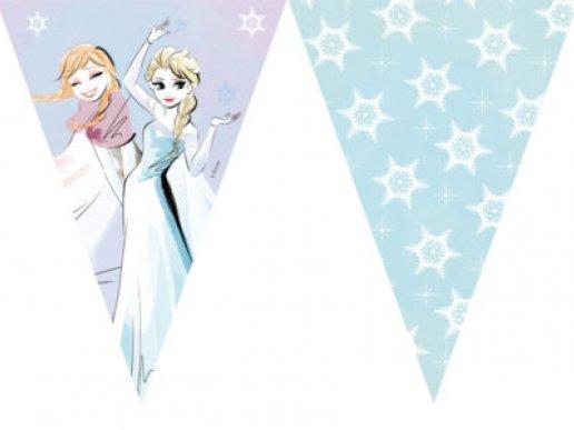 Frozen Sparkle Γιρλάντα Σημαίες