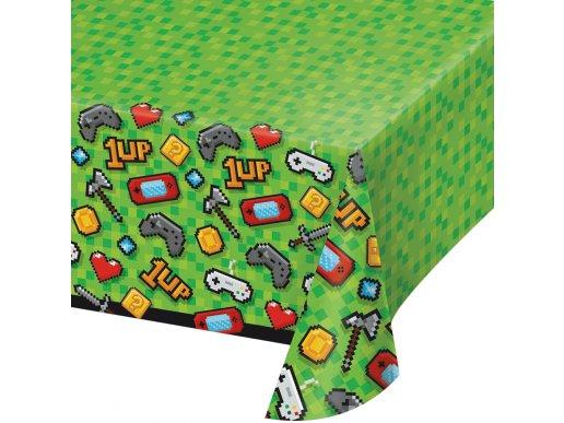 Gaming Party Πλαστικό Τραπεζομάντηλο (137εκ x 259εκ)