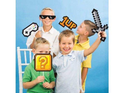 Gaming Party Σετ Φωτογραφικού Θαλάμου (10τμχ)