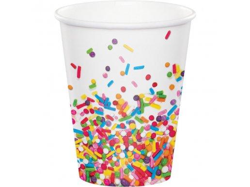 Sprinkles Paper Cups 8/pcs