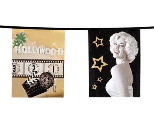 Γιρλάντα Movie Star Hollywood