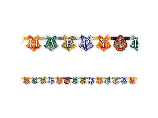 Harry Potter Happy Birthday Banner