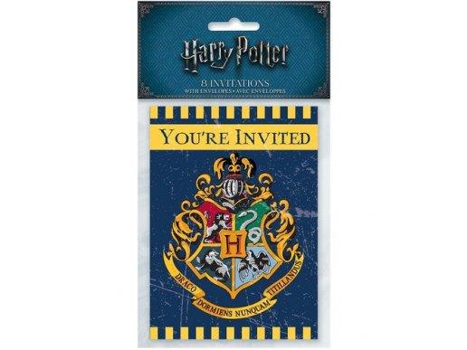 Harry Potter Party Invitations 8/pcs