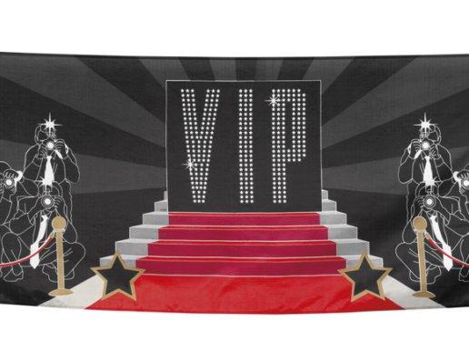 Vip Hollywood Υφασμάτινο Μπάνερ