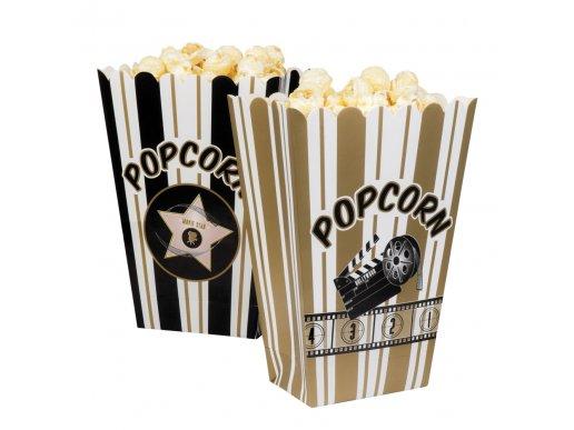 Hollywood Pop Corn boxes 4/pcs
