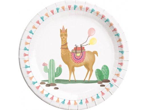 Lama Large Paper Plates 8/pcs