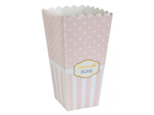 Mademoiselle Rose Ροζ Κουτιά Χάρτινα Για Κέρασμα (8τμχ)