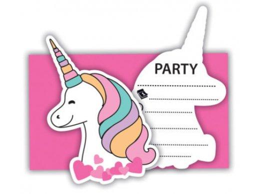 Magic Party Προσκλήσεις 6/Τμχ