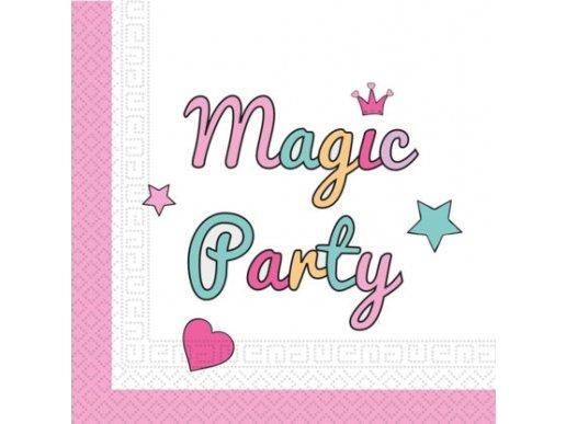 Magic Party Χαρτοπετσέτες Φαγητού 20/Τμχ