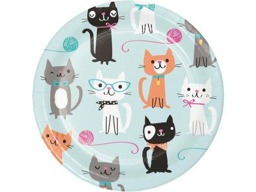 Pur-Fect Party Small Paper Plates 8/pcs