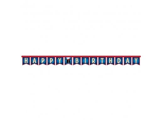 Magic Party Happy Birthday bunting