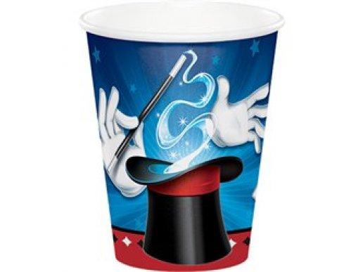 Magic Party paper cups 8/pcs