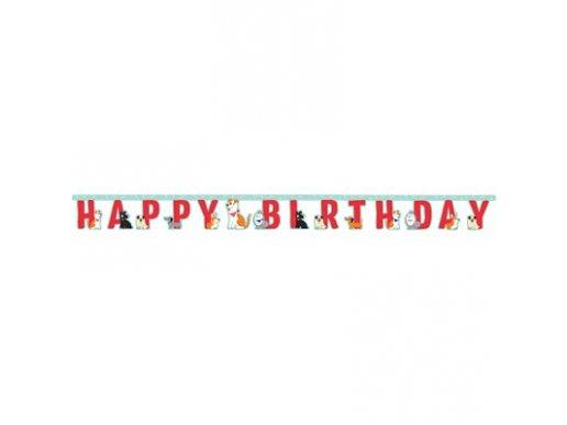 Dog Party Happy Birthday Garland