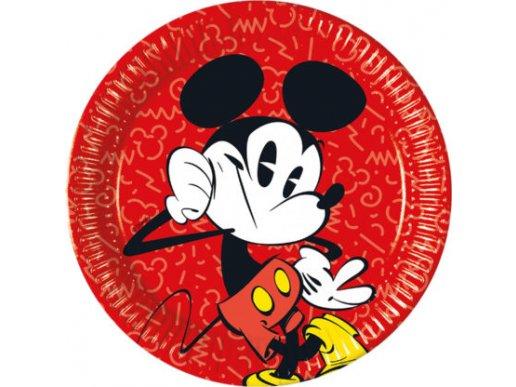 Mickey Super Cool Large Paper Plates (8pcs)