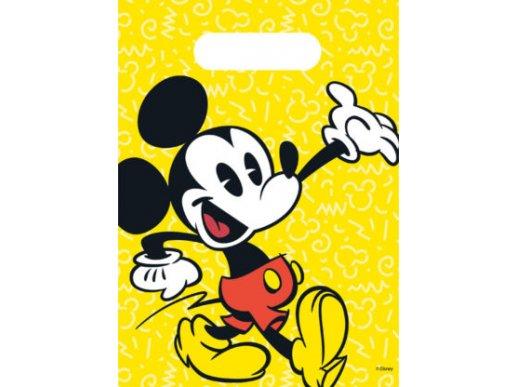 Σακούλες Για Δώρα Μίκυ-Mickey Σούπερ Κούλ (6τμχ)