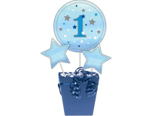 Twinkle little star blue centerpiece sticks 3/pcs