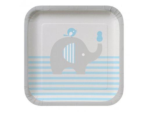 Μικρό Σιέλ Ελεφαντάκι Μικρά Πιάτα (8τμχ)