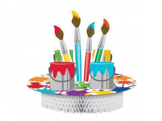Art Party Centerpiece Table Decoration (29,8cm x 30,4cm)
