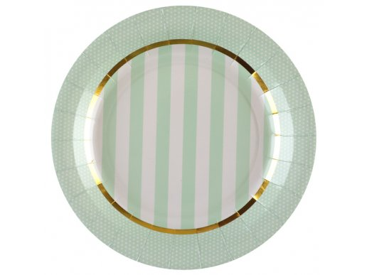 Monsieur Chou Mint Large Paper Plates (10pcs)