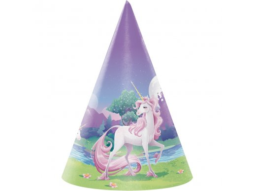 Unicorn party hats 8/pcs