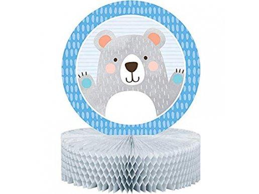 Blue Bear Centerpiece for Table Decoration