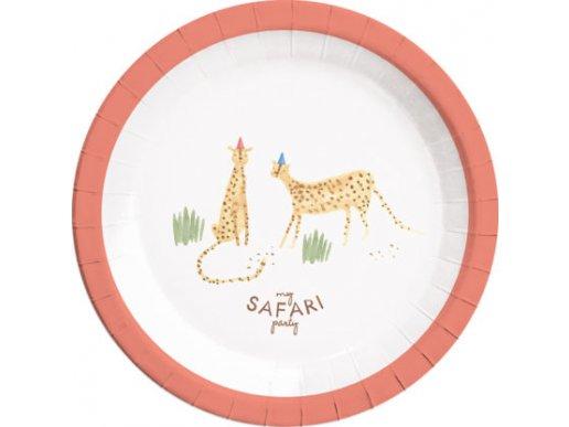 My Safari Party Μεγάλα Χάρτινα Πιάτα (8τμχ)